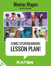 Maniac Magee Plot Chart Lesson Plan Maniac Magee By Jerry Spinelli