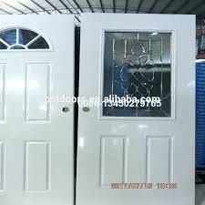 entry door inserts window kit for steel retaining channel insert with half moon glass