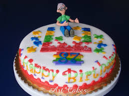 Puzzle Cake Designs Puzzle Birthday Cake Cake Party Desserts Birthday Cake Girls
