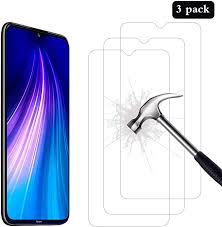 AHABIPERS Tempered Glass for <b>Xiaomi Redmi</b> Note 8 <b>Screen</b> ...