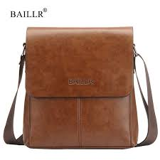 <b>BAILLR Brand Mens</b> shoulder bags Crossbody Vintage Casual ...