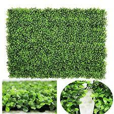 DearHouse <b>Artificial</b> Boxwood Panels <b>Topiary Hedge Plants Artificial</b>