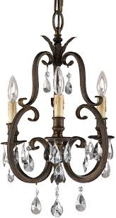 feiss f2226 3ats salon ma maison 3 light tortoise shell duo mini chandelier or semi loading zoom