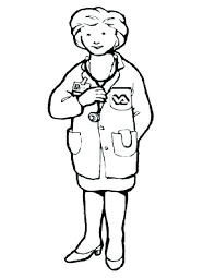 Veterinarian Coloring Pages The Printable Veterinarian Coloring