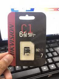 THẺ NHỚ HIKVISION C1 64GB CLASS CHUYỂN DỤNG CHO CAMERA - 64GB CLASS -  3223_44472131 | Thẻ Nhớ Máy Ảnh