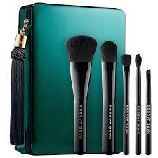 sephora brush set 2017. shop marc jacobs beauty\u0027s your place or mine? five-piece travel brush collection at sephora set 2017 d