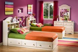 Kids White Bedroom Furniture Twin Bed Frame Fo 7465   ecobell.info