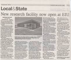 eastern illinois university center for clean energy research this new facility will be instrumental in their studies in renewable energy