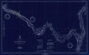 Amazon Com Vintography Noaa Blueprint Style 18 X 24