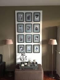 Plaat Hardboard Behang En Fotolijstjes De Passepartouts In De