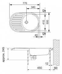 """Купить <b>Кухонная мойка Franke PML</b> 611 3 1/2"""",стоп-вентиль ..."""
