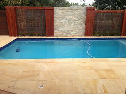pool coping sandstone pavers