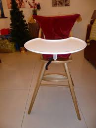 ikea gulliver high chair with detachable tray and cushion