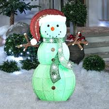 outdoor Outdoor Snowman Christmas Decorations