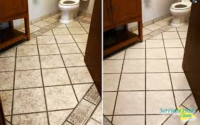 before and after tile and grout cleaning servicemaster of kalamazoo