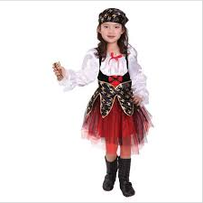 Halloween Luxury Pirate Costumes Girls Kids Children Party Cosplay Costume  For Children Kids Clothes Full Set Headdress Dress In Girls Costumes From  Novelty ...
