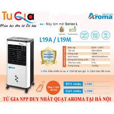 Quạt điều hòa Aroma L19A Điện tử- Hàng chính hãng, Giá tháng 1/2021