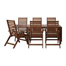 ikea outdoor furniture reviews. ÄPPLARÖ Table + 6 Reclining Chairs, Outdoor Ikea Furniture Reviews