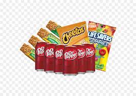 fizzy drinks snack pretzel trail mix food gift baskets milk cinnamon rolls png 640 640 free transpa fizzy drinks png