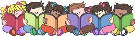 Image result for kids reading clipart