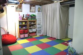unfinished basement ideas. Image Of: To Hang Covering Unfinished Basement Walls With Fabric Unfinished Basement Ideas N