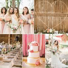 modern vintage wedding. A Romantic Summer Wedding with an Elegant Barn Reception Chic