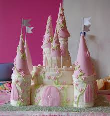 Disney Princess Cakes For Girls Castle Decoration Ideas Little