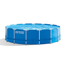 Intex 28241EH 15ft X 48in Metal Frame Pool Set with Filter Pump