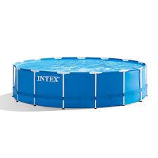 Intex 28241EH 15ft X 48in Metal Frame Pool Set with Filter Pump