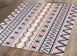 blue nursery rug blue pink beige rug woven rug area rug navy baby blue rug