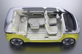 volkswagen van hippie interior. volkswagen id buzz concept interior van hippie