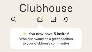 クラブ ハウス 招待