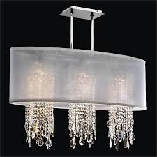 crystal chandelier with shade soho 626mm33sp w 7c