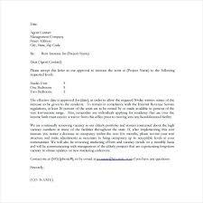 Rental Increase Letter Sample Rental Application Approval Letter Withdraw Application Letter
