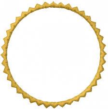 Circle Border Circular Border Embroidery Design