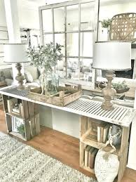 simple diy console table bless this nest entryway table hanging window