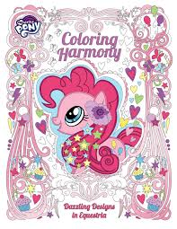 Small Picture Horse News Hasbro Announces Adult My Little Pony Coloring Book