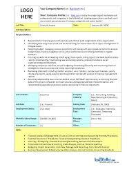 financial analyst job description template by baytcom benefits analyst job description