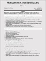 Consulting Resume Templates Management Consulting Resume Examples For Microsoft Word