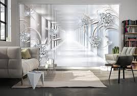 HD Wallpaper. 3D Wallpaper Gray tunnel ...