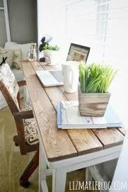 DIY Barstool Desk