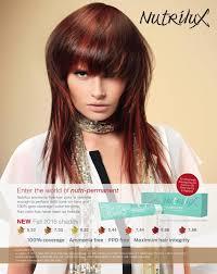 Nutrilux Hair Colour Chart Salon Magazine October 2015 By Salon Communications Inc