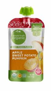 <b>Simple</b> Truth <b>Organic</b>™ Apple Sweet Potato Pumpkin <b>Stage 2</b> Baby ...