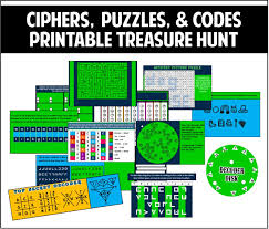 Crosswords, fun activities & games. Ciphers Puzzles And Codes Treasure Hunt Escape The Classroom Treasure Hunt Escape Room Diy