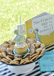 Traditional birthday cakes are being traded in for these creative and trendy alternatives. Mo Willems Pigeon Birthday Cake Alternative Chocolate Chip Cookies Finding Zest