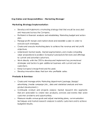 Roles Of A Sales And Marketing Manager Sales And Marketing Manager 1