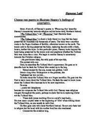 most if not all of heaney s poems in wintering out describe  page 1 zoom in