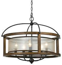 round wood chandelier chandeliers by modern decor home rustic australia