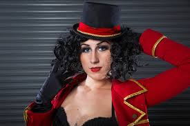 circus ringmaster woman stock image image of circus 61825609