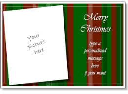 Christmas Card Templates Add Your Own Photo Printable Christmas